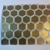 Making Your Own Metallic Embossed Paper Project by Jo West