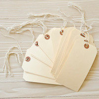 Lightly-Stained Ready-to-Alter Tags
