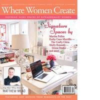 Where Women Create Summer 2012