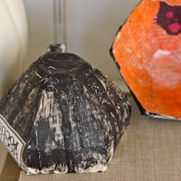 Paper Mache Teacups Two Ways Project by Catherine Garmany