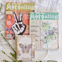 Paisley Butterfly Journaling Gift Bundle