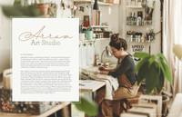 Free Apron with In Her Studio Subscription