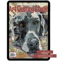 Art Quilting Studio Winter 2020 Instant Download