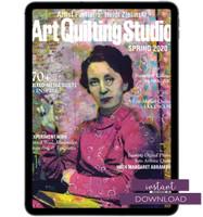 Art Quilting Studio Spring 2020 Instant Download