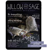 Willow and Sage Autumn 2019 Instant Download