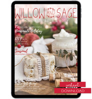 Willow and Sage Winter 2020 Instant Download