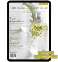 Natural Home Issue Volume 1 Instant Download