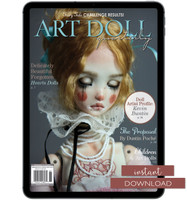 Art Doll Quarterly Spring 2016 Instant Download