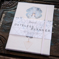 Gratitude Dateless Planner by Papaya Art
