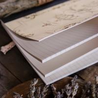 A Light in the Heart Clothbound Notebook by Papaya Art