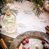 Festive Printable Gift Tags for Homemade Bath and Body Recipes