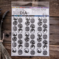 Dina Wakley Media Collage Paper Backgrounds
