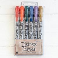 Ranger Ink Distress Crayons Set — On the Farm