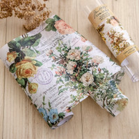 Tim Holtz Ideaology Collage Paper Floral