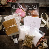Willow and Sage Chamomile and Lavender Starter Set