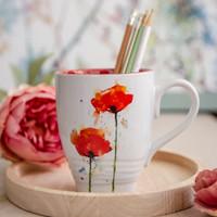 Poppy Flower Mug