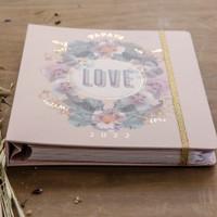 Love & Pansies 2022 Hardcover Deluxe Planner