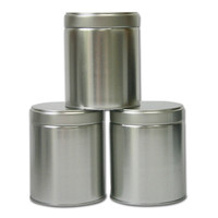 Tea Tins Wide — Set of 3