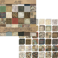 Advantus Tim Holtz Idea-ology Crowded Attic Paper Stash