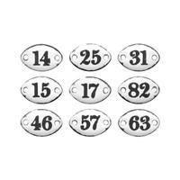 Advantus Tim Holtz Idea-ology Plaquettes - Set of 9