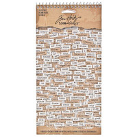Advantus Tim Holtz Idea-ology Chitchat Words Stickers