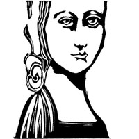 Lady Macbeth Cling Mount Stamp by Pam Carriker
