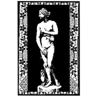 Venus Wood Mounted Stamp by Claudine Hellmuth