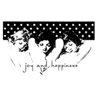 Angel Trio Wood Mounted Stamp by Christine Adolph