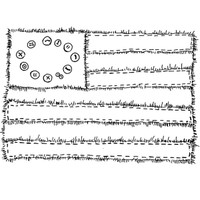 Rag Flag — Medium Wood Mounted Stamp by Classic Stampington & Company