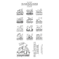 12 Days Of Christmas Clearly Impressed Stamp Set by Michelle Ward