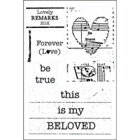 Love Lines - Beloved Clearly Impressed Stamp Set by Kristen Robinson