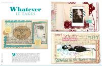 Art Journaling Winter 2012