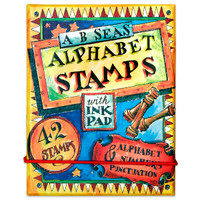 A B Seas Alphabet Stamps Kit