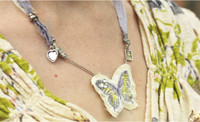 Spring Butterfly Necklace Project by Shona Cole