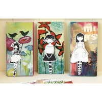 Colorful Canvases and Cards Project