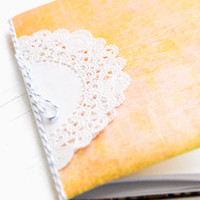 Sweetheart Notebook Project by Kerri Winterstein