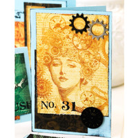 Steampunk Cards Project