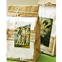 Vintage Sea Gift Bags Project