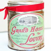Paris Tea Tins  Project