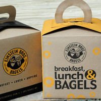 Repurposed Bagel Boxes Project