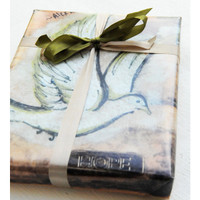 Green Gift Wrap Project
