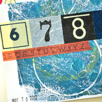 Monoprint Card Inspiration Project