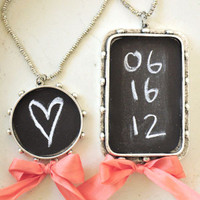 Chalkboard Pendants Project