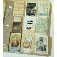 French Ephemera Storage Album Project