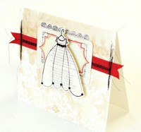 Beaded Dress {Card} Project by Roben-Marie Smith