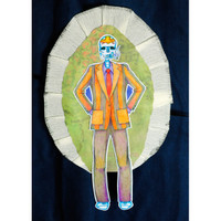 Dia de los Muertos Banner Project by Sarah Meehan