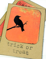 Spooky Silhouette Cards Project by Sarah Meehan