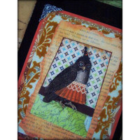 Vintage Book Cover with Owl Project by Barbara Smith
