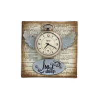 Love Always Canvas Project by Tim Holtz