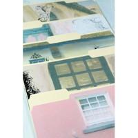 Cottage Garden Manila Folders Project